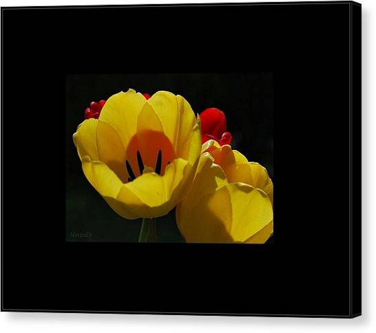 Two-lips Canvas Print