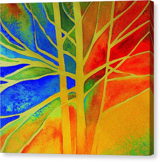 Two Lives Intertwined  Canvas Print