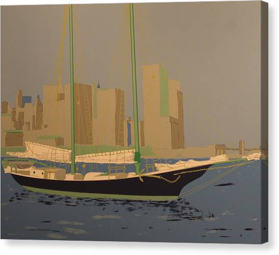 Two Masts Canvas Print by Biagio Civale