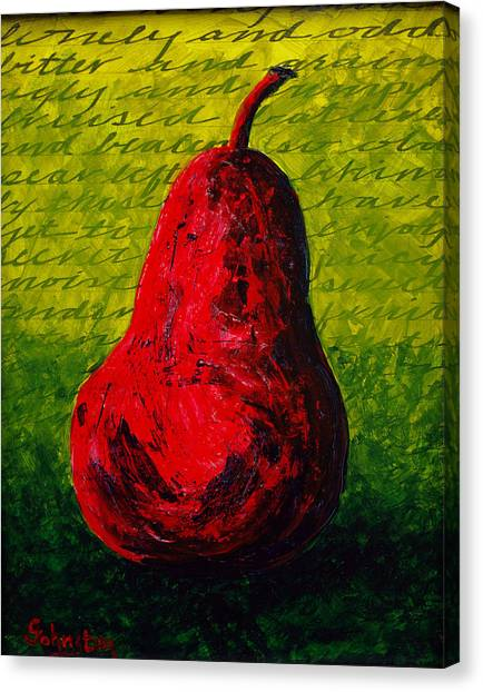 Canvas Print - Two Pair - Red by Cindy Johnston
