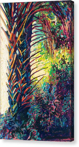 Two Palms Canvas Print