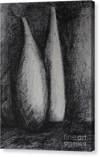 Two Vessels Canvas Print by Leila Atkinson