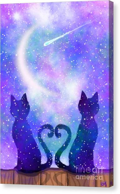 Canvas Print - Two Wishing On A Star by Nick Gustafson