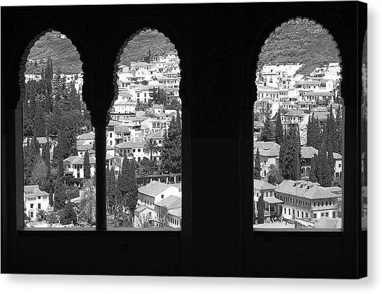 Two Worlds Canvas Print by Jez C Self