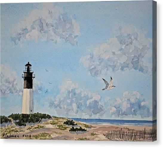 Tybee Light Savannah Canvas Print
