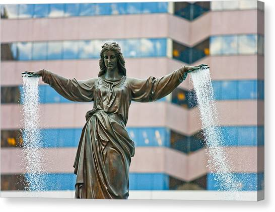 Tyler Davidson Fountain Canvas Print