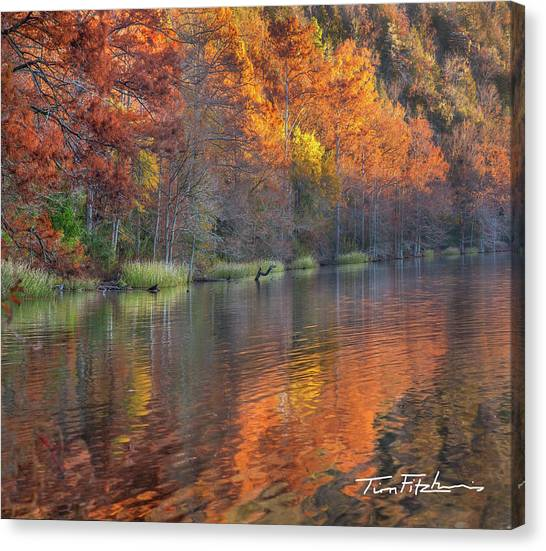 Tyler Lake Canvas Print