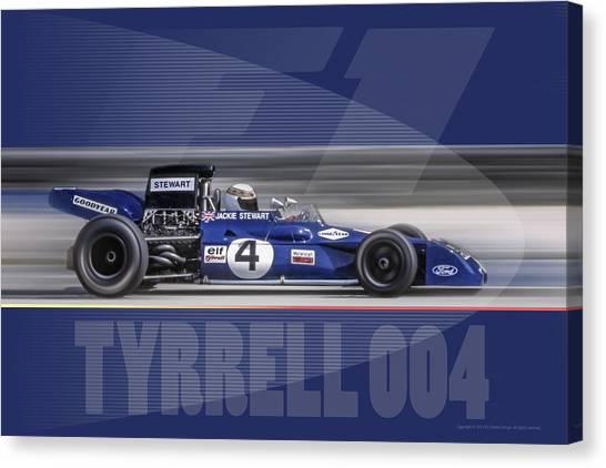 Tyrrell 004 Canvas Print