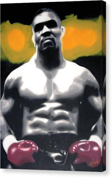 Mike Tyson Canvas Print - - Tyson - by Hood alias Ludzska