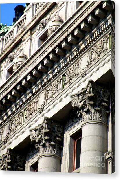 Smithsonian Museum Canvas Print - U S Custom House 2 by Randall Weidner