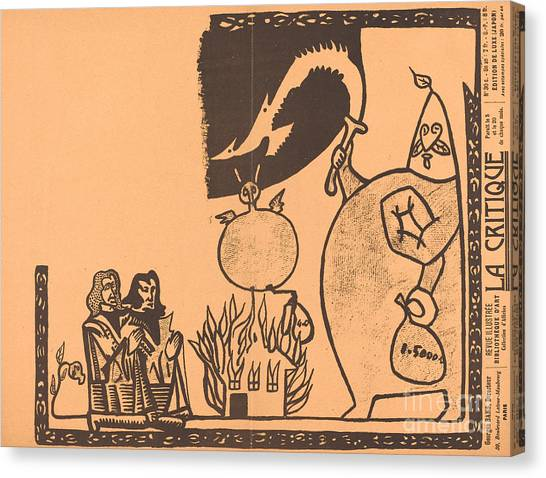 Canvas Print - Ubu Roi by Alfred Jarry