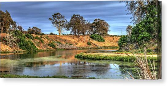 Ucsb Canvas Print - Ucsb Lagoon by Richard Stephen
