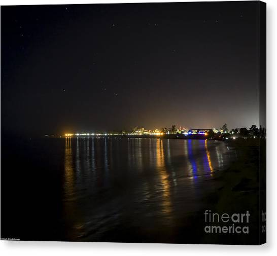 Ucsb Canvas Print - U.c.s.b by Mitch Shindelbower
