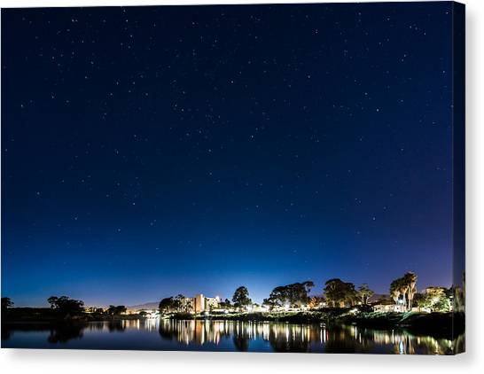 Ucsb Canvas Print - Ucsb by Zach Brown
