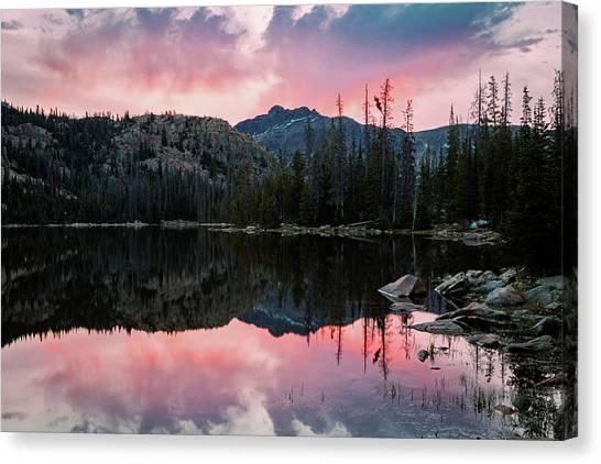 Uinta Canvas Print - Uinta Sunrise Reflection by Johnny Adolphson