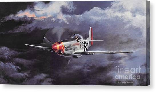 Artist Michael Swanson Canvas Print - Ultimate High by Michael Swanson