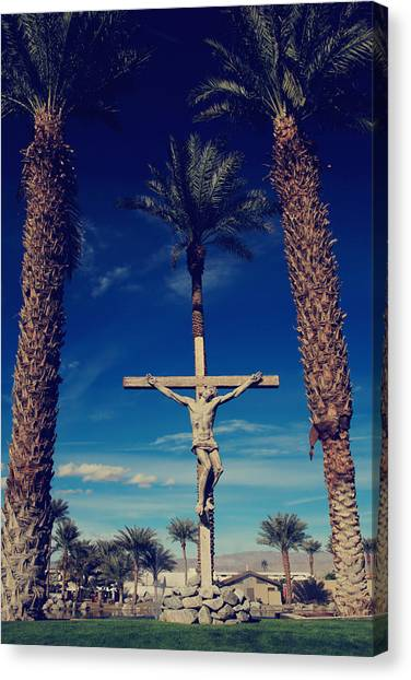 Crucify Canvas Print - Ultimate Sacrifice by Laurie Search