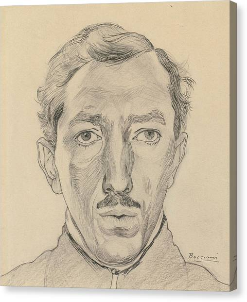 Futurism Canvas Print - Umberto Boccioni by Umberto Boccioni