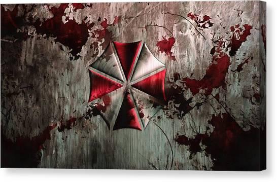 Resident Evil Canvas Print - Umbrella  Resident Evil by Vadim Pavlov