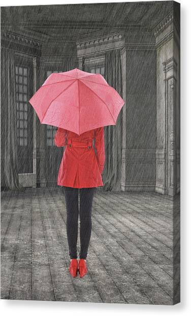 Rihanna Canvas Print - Umbrella by Smart Aviation