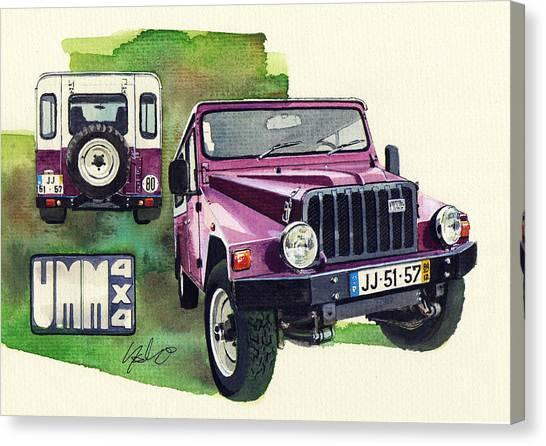 4x4 Canvas Print - Umm Cournil by Yoshiharu Miyakawa