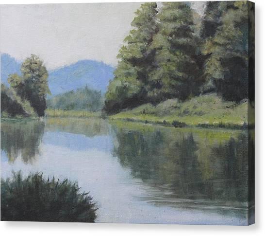 Umpqua River Canvas Print