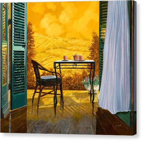 Shutters Canvas Print - Un Caldo Pomeriggio D by Guido Borelli