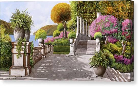 Italian Canvas Print - Un'altra Scalinata by Guido Borelli