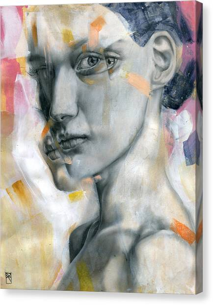 Portraits Canvas Print - Unbearable Lightness by Patricia Ariel