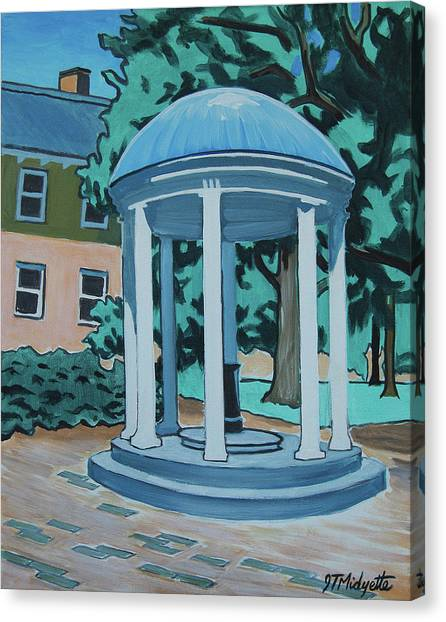 Unc Old Well Canvas Print