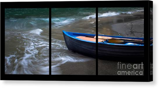 Uncertain Future Triptych Canvas Print