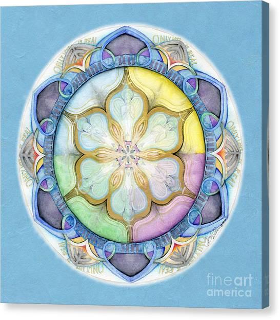 Unconditional Mandala Canvas Print