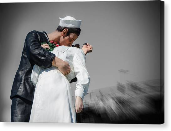 Unconditional Surrender 1 Canvas Print