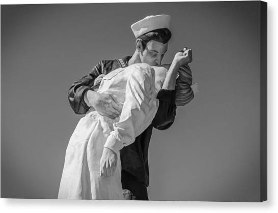 Unconditional Surrender 3 Canvas Print