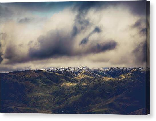 Clouds Canvas Print - Undeniable by Laurie Search