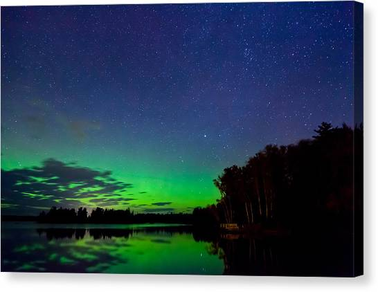 Under An Alien Sky Canvas Print