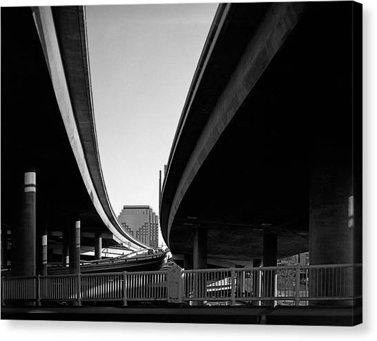 Under Interstate 5 Sacramento Canvas Print