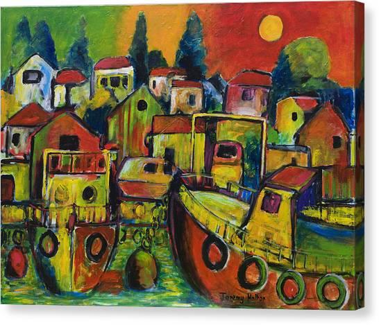 Under Milkwood Canvas Print