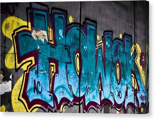 Under The Bridge Canvas Print by Sarita Rampersad