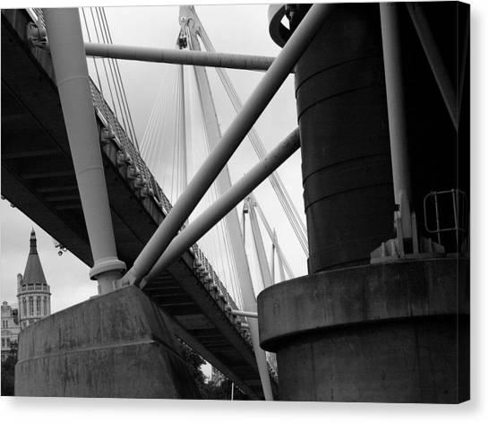 Under The Bridges  Canvas Print