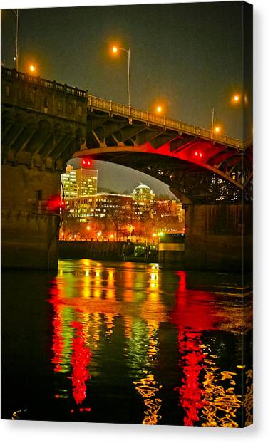 Under The Burnside Canvas Print