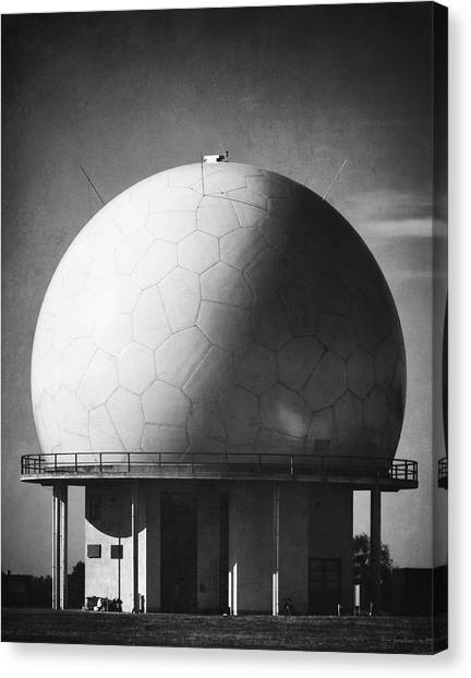 Air Traffic Control Canvas Print - Under The Dome by Wim Lanclus
