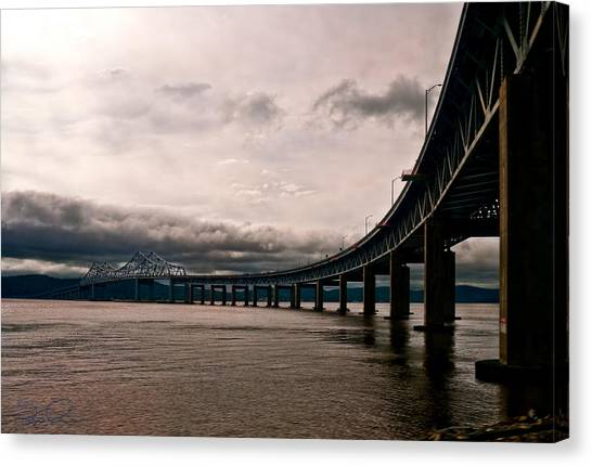 Under The Tappan Zee Canvas Print