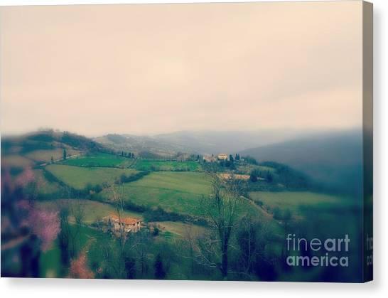 Spring Canvas Print - Under The Tuscan Sky by Eva Maria Nova