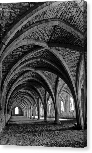 Under The Vaults. Vertical. Canvas Print