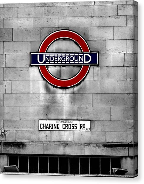 United Kingdom Canvas Print - Underground by Mark Rogan
