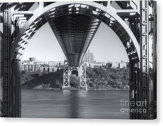Underneath The George Washington Bridge IIi Canvas Print