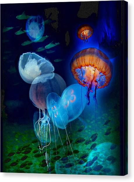 Undersea Fantasy Canvas Print