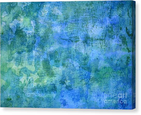 Undersea Canvas Print