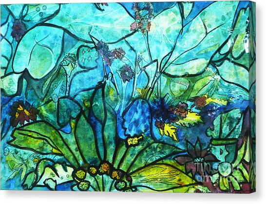 Underwater Fantasy Canvas Print